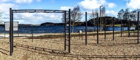 EIGE PROGRAM: Det er laga instruksjonar og eigne treningsprogram for Tufteparken.