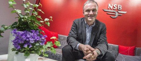 For fem år siden stilte NSB-sjef Geir Isaksen til intervju i ØB. Nå er det du som kan stille spørsmål til Isaksen.
