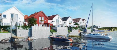 Holmen-prosjektet har fått solgt 8 av enhetene sine foreløpig.