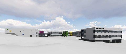 Til fylkesmannen: Klagene på bystyrets planvedtak for Narvik ungdomsskole er ikke tatt til følge av kommunen. Nå går saken videre til Fylkesmannen.