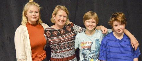 Jungelteam: Ylva Nyborg (fra venstre), Monia Berger, Krista Trygvasdottir og Mats Wibe.