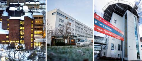 ANBEFALES IKKE: Prosjektgruppa som har utredet helseforetaksstrukturen i Trøndelag anbefaler ikke sammenslåing av St. Olavs hospital og Helse Nord-Trøndelag.