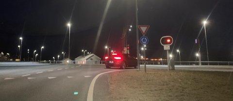 STENGT: Bommen var nede på Solbakk. Foto: Elin Moen Karlsen