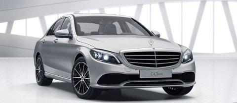 NULL: En ny Mercedes Benz C220D slapp ut null milligram NOX per kilometer, ifølge fersk test utført av tyske ADAC.  Illustrasjonsfoto:Mercedes Benz