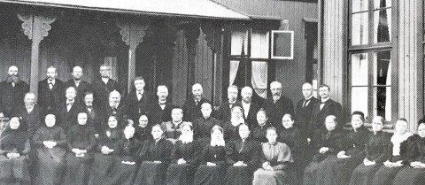 GAMLEHJEM: Betesda gamlehjem åpnet på vestsiden i 1895.