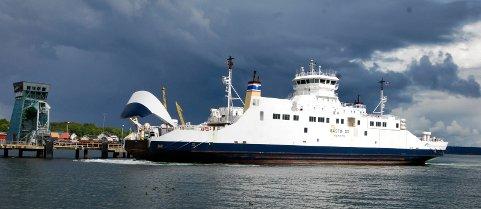 TEKNIKSE PROBLEMER: «Bastø III» vil torsdag ettermiddag gå med redusert kapasitet.