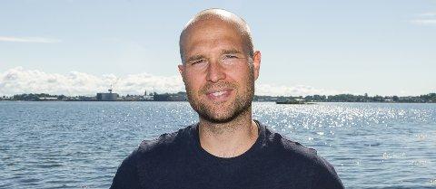 ryddegutt: Anders Bergsli (36) har fått oppdaget med å lede prosjektet for opprydding av sjøbunnen på Indre Havn.