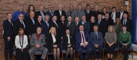Kommunestyret: Ullensvang kommunestyre skal i november ha folkevaltopplæring og kommunestyremøte på Hotel Ullensvang. Foto: Ernst Olsen