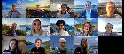SATSER SAMMEN: Reiselivssjefer i Nord-Norge har besluttet å gå sammen for å skape større samhandling i reiselivet i Nord-Norge.