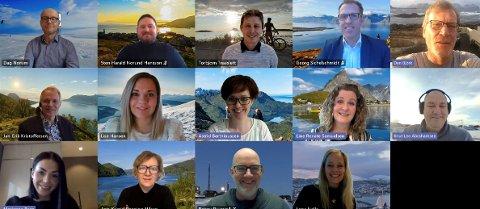Destinasjonsforum Nord, som ble etablert i mars 2021, og hvor daglig leder Line Samuelsen i Destination Lofoten er representert.