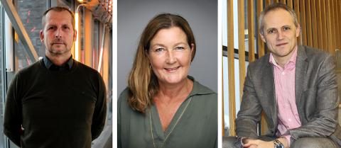 De tre rektorene Nordstrands Blad har snakket med, er alle enige om at rødt nivå på skolene var nødvendig nå. Fra Venstre: Gjermund Jørgensen, Nina Jutkvam og Anton Rygg.