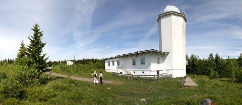 Solobservatoriet på Harestua i Oppland er nå fredet av Riksantikvaren. Foto: Snøhetta / NTB scanpix