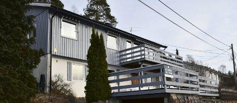 Til salgs: Dette huset i Skafjellåsen etter ett av få hus som er til salgs akkurat nå. FOTO: INGUNN HÅKESTAD BRÅTHEN