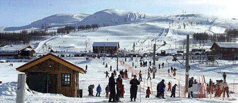 VINTEREN ER HER: På Vierli og Rauland er de klare for en herlig vintersesong.