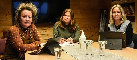 Tillitsvalgte Silje Steinhaug Chistoffersen, Hilde Holte og Elin Svalastog ved Heddal Barneskole ønsker å etablere Heddal Barneskole på Sem. Og dermed også å samle ungdomsskolene på Sætre