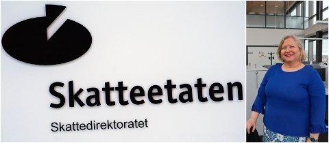 UTLANDET: De fleste sakene handler om økonomiske forhold i utlandet forteller divisjonsdirektør i Skatteetaten, Marta Johanne Gjengedal.
