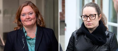 VENNER: Gruppeleder Anne Haabeth Rygg (t.v.) i Høyres bystyregruppe og påtroppende stabssjef Marianne Grimstad Hansen er nære venner. Nå innehar begge toppverv i bystyregruppa.