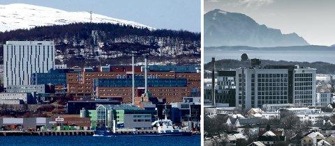 UNN i Tromsø og Nordlandssykehuset i Bodø.