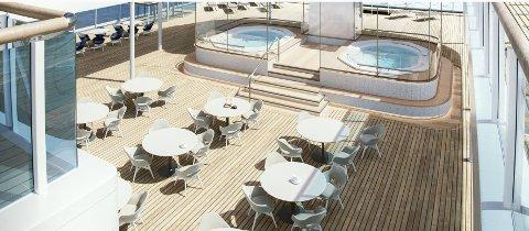 NYE SKIP: På Havilas hjemmeside illustrerer de dekkene på sine nye skip slik.