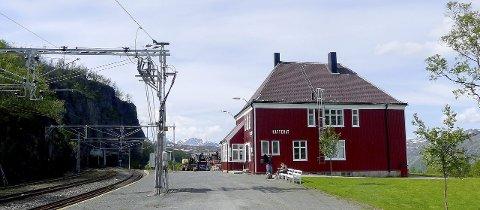 Katterat er en av stasjonene på Ofotbanen.