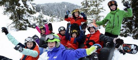 KVITFJELL: Denne gjengen kan glede seg over at Kvitfjell Brettklubb er nominert. Foto: Kari Utgaard