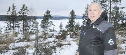 89 hytter: Her på Kvetangen ved Settens bredd ønsker Knut Heggedal i Setten Hyttepark AS å bygge 89 hytter.Alle foto: Bjørn Ivar Bergerud