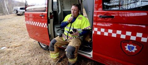 Oppsiktsvekkende: Brann- og redningssjef i Sel, Tom Are Nilstad konstaterer at mannskapet hans ofte er de første som kommer til stedet ved akutte helseoppdrag.