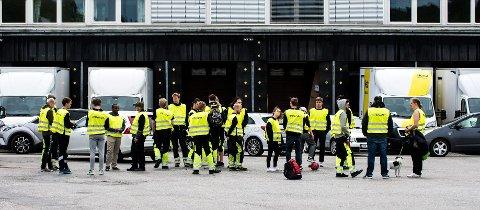 Elkjøp-ansatte streiket i sommer. Det førte til at de senere mistet jobben. (Foto: Vidar Sandnes)