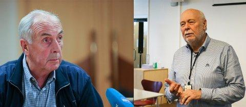 Stanley Wirak og Hans Petter Torvik må belage seg på overtidsarbeid. Situasjonen i landet er kritisk.