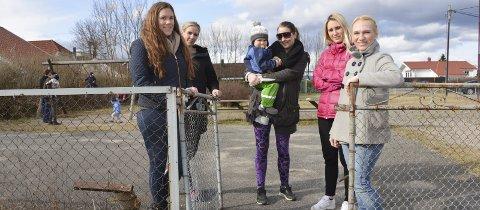 ORDNER OPP: Foreldre på Vestsiden har dannet en ny velforening for å pusse opp den kommunale lekeplassen. De har nå blant annet sørget for å hente inn 210 000 kroner til et nytt, stort lekeapparat. Alt arbeidet skal gjøres på dugnad, fra og med denne helgen.