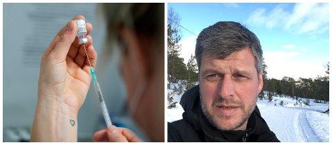 TIME: Sjølv om du har fått time til vaksine, kan du nytte deg av tilbodet om drop-in vaksine i Fjaler onsdag. Dersom du ønsker å behalde ein eksisterande time er du hjarteleg velkommen til det også, seier kommuneoverlege Jakob Ravn i Fjaler.