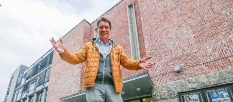 Hektisk vinter: Bjørn Halstensen skal ha unna 13 spillejobber på 14 uker, fordelt på tre land. Blå Grotte er første stopp.
