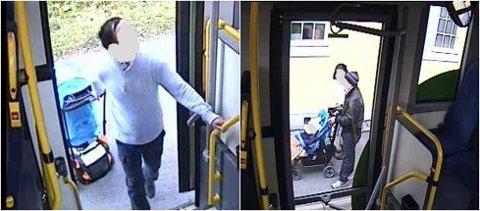 TILREGNELIG: Det er konkludert med at mannen som er siktet for å ha drept sin kone i Hamar er strafferettslig tilregnelig. (Foto: Politiet / overvåkningsbilder)