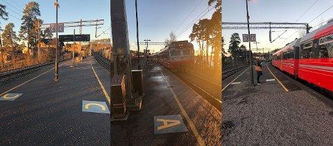 SLIK: Sånn ser det ut på stasjonene som er merket opp.