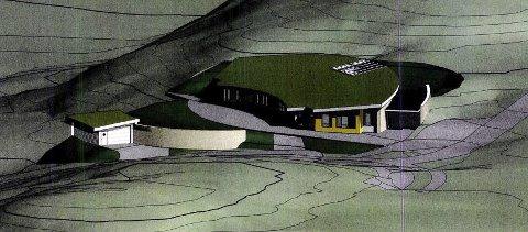 LANGVARIG SAK: Torsdag behandlet kommunestyret i Nærøysund klagen på vedtaket om at Trio Barnehager ikke får innvilget driftsstøtte. Dette er en av tegningene som viser barnehagen Trio Barnehager ønsker å bygge.