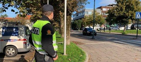 KAN BLI DYRERE: Politiet kan snart dele ut mye større bøter dersom regjeringen får grønt lys for sitt nye forslag.