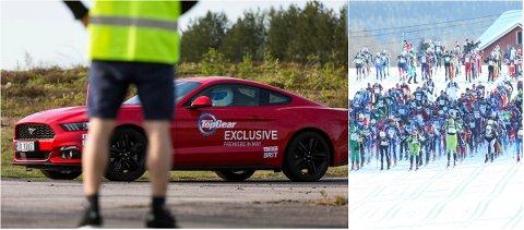 BIRKEN-STUNT: Top Gear ønsker å gjennomføre verdensrekordforsøk i traseen til Birkebeinerrennet, med bil.