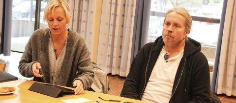 KREVER MER: Anne Paulsen og Bård Brørby (begge SV) vil vite mer om hva som ligger bak tallene før de støtter pengebruken. De øvrige fem formannskapsmedlemmene sørget imidlertid for flertall for en ramme på 124 millioner kroner til utbygging av Bergerbakken skole. Kommunestyret avgjør saken 17. november.