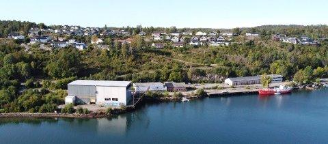 SOLNES BRYGGE: Det 30 mål store området ligger sør for Melsomvik. I løpet av neste år kan det bli gravestart for boligprosjektet.