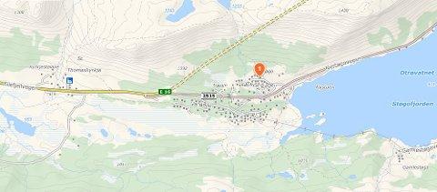 DYREST: Ei hytte på Øvre Jorde på Tyinkrysset ble nylig solgt for 4,475 millioner kroner.