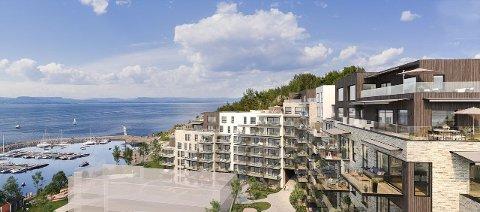 Salgstrinn 1 og 2 av byggetrinn 1 i Spro Havn vil bestå av totalt 130 leiligheter i varierte størrelser og prisklasser.