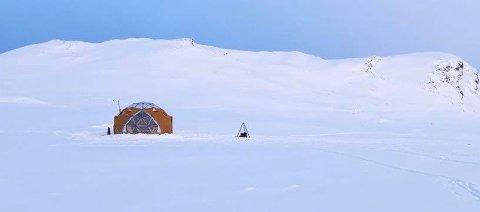 Slik vil Arctic Dome arte seg i terrenget ved Smuksjøseter. Nå har Sel fjellstyre sagt ja, men Statskog, som grunneier, skal ta endelig avgjørelse.