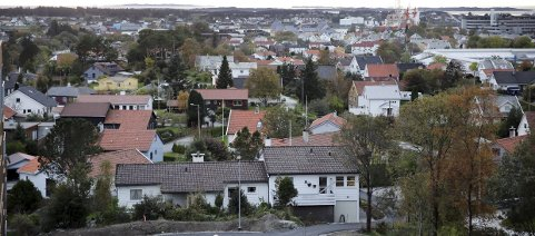 Boliger på markedet:  Utsikt fra Beverskaret i Haugesund. Arkivfoto: Alf-Robert Sommerbakk