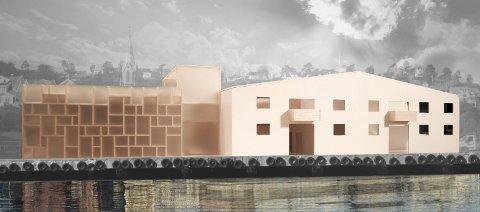 MUNCH, MEN INGEN SAL: Kommunens kulturadministrasjon har valgt å prioritere et Munch-senter, framfor en kultursal som kan berike det mangfoldige lokale kulturlivet. ILLUSTRASJON: KAROLINE STENER SALoMONSEN