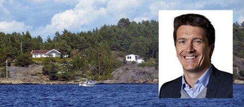 ROTUR: Rema-sjef Ole Robert Reitan skal ro fra Risør til Kragerø, der han har hytte på Sauøya.