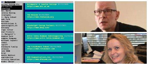 MERKER DATAANGREPET: Hovedverneombud og Fagforbundets leder Erik Cato Haug og sykepleier, tidligere ordfører Guri Bråthen.