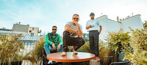 KLARE FOR FEST: Pop/EDM-trioen Major Lazer  kommer  til Norge for første gang siden 2015.