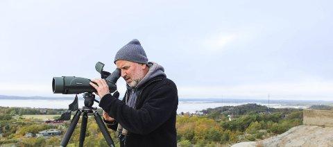 Engasjert: Haakon F. Stenersen har tilbrakt mye tid de siste årene i Færder nasjonalpark og skjærgården rundt. Det han har sett, bekymrer. Nå ber han om mer tilsyn og vern. Foto: Nina Therese Blix