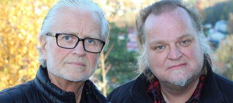 Spennende samspill mellom kirkeorganist Iver Kleive og bluesgitaristen Knut Reiersrud.