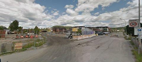COOP: Coop har kjøpt tomt og to bygg i Dr. Munksgate på Hovenga. Her vil de bygge butikk.
